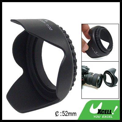 52mm Flower Camera Lens Hood for Sigma Canon Nikon Olympus