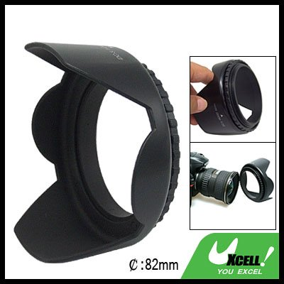 82mm Flower Camera Lens Hood for Canon Nikon Olympus