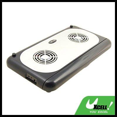 Wide-Screen Slim USB Notebook Laptop PC Cooler Cooling Flex 3 Fan Pad