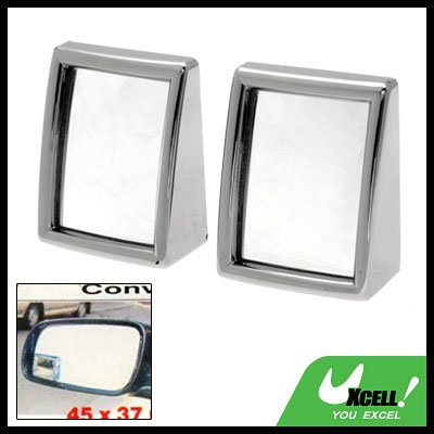 Convex Wide Angle Blind Spot Car Mirrors Safety Pair