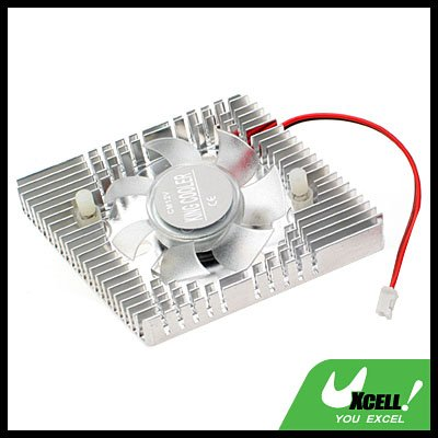 12V Fan Video Card VIO VGA  Cooler Cooling Fan