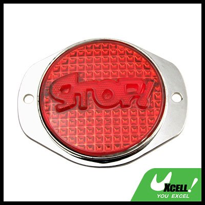 Stop Sign Bee Footprints Auto Car Reflector Series