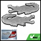 Crocodile Pattern Stick-on Car Reflectors Warning Sign