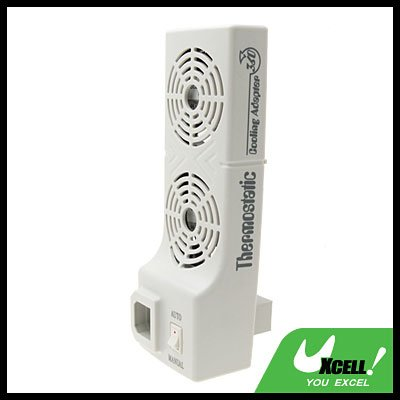 2 Sleeve Thermostatic Cooling Cooler Fan for Xbox 360