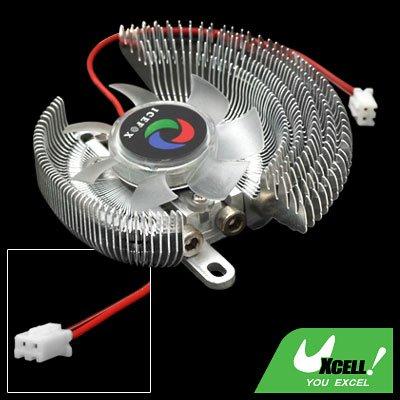 Portable Mini VGA Heatsinks Cooler Radiator Cooling Fan