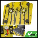 Autumn Scenery Notebook USB Compact Cooling Cooler Pad with 2 Fan
