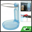 Folding Car Auto Drink Can Cup Bottle Blue Holder Stand