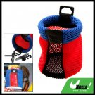 Portable Car Storage Pocket Sundries Bag Red and Blue