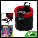 Portable Car Storage Pocket Sundries Bag Red and Black