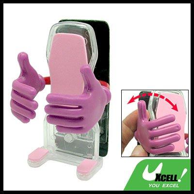 Big Hug Adhesive Cell Phone Holder for Car Desk Headboard (AC-136)