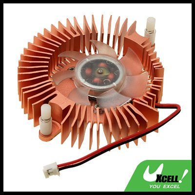 Aluminum Heatsink Cooler Cooling Fan for VGA Video Card