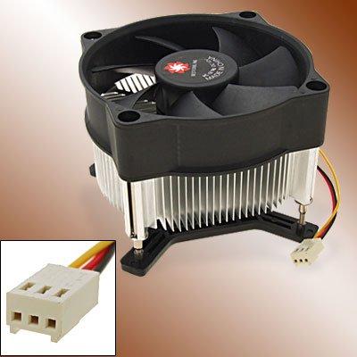 3 Pin CPU Cooler Heatsink Cooling Fan for Intel 775