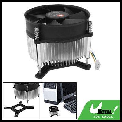 12V CPU Cooling Heatsink Fan Cooler for Intel LGA 775