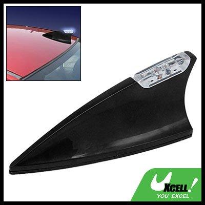 Shark Fin Car Auto Decorative Antenna with Flash Light