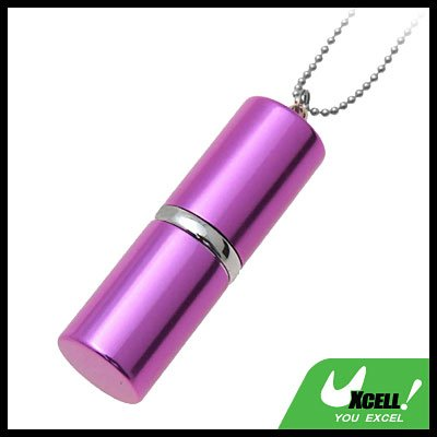 Purple Lipstick Keychain USB 4GB Flash Memory Stick