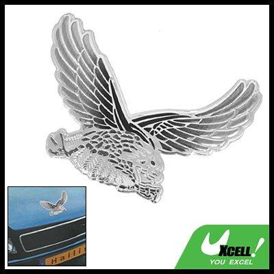 Silvery Eagle Car Decoration Logo Badge (HL-8031)