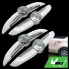 Decorative White and Sliver Car Door Guard Protector (AC-702)