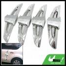 Cool Sliver Car Door Guard Protector 4 Pieces Set (AC-704)