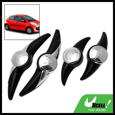 Decorative Door Guard Protector Black for Car Auto