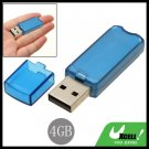 Compact 4GB USB 2.0 Flash Memory Stick Pen Drive Blue
