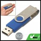 Compact Portable Swivel 8GB USB 2.0 Flash Drive Memory Stick