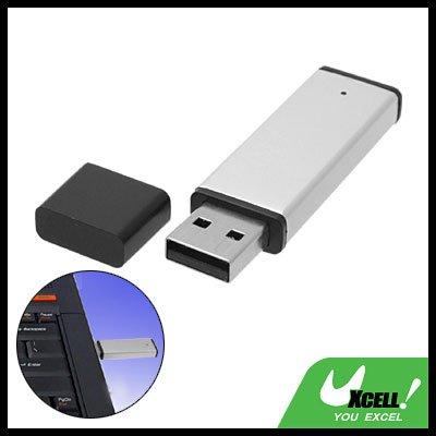 8GB White Aluminum Removable USB Flash Memory Stick Drive Storage