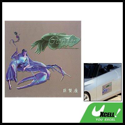 Cancer Zodiac Vinyl Car Vehicle Window Sticker Decal