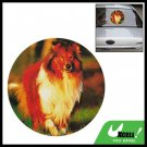 Vinyl Dog Decal Car Truck Window Decorative Sticker
