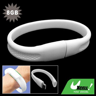8GB Bracelet Wrist Band USB Drive Flash Memory Stick