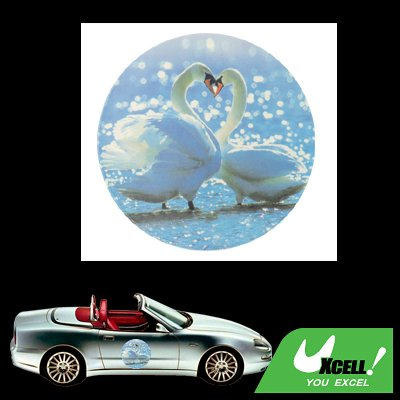 Swan Couple Car Vehicle Window Decal Graphic Sticker