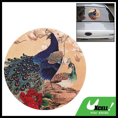 Peacock Decorative Sticker Graphic Decal for Car Auto