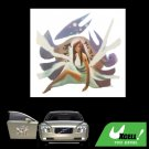 Beautiful Girl Pattern Car Truck Window Vinyl Decal Sticker