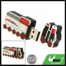 Cool-Look Small Train USB 2.0 2GB Flash Memory Stick Drive