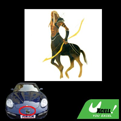 Cool Centaur Exterior Vehicle Car Viny Sticker Decal