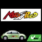 Moto Speed Car Auto Vehicle Window Decal Vinyl Sticker