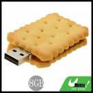 Biscuit USB 8GB Flash Memory Storage Stick Drive