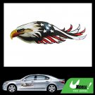 USA American Eagle Car Window Graphic Decal Sticker