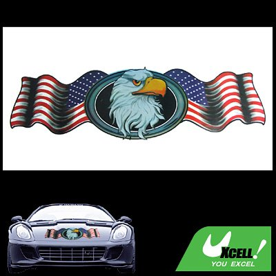 Vinyl Car Vehicle Window Decal American Eagle Sticker