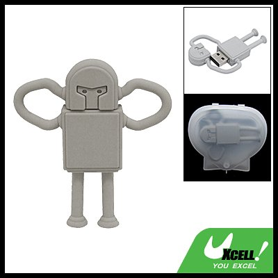 Robot Shaped 2GB USB 2.0 Flash Memory Drive Pen Stick