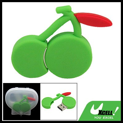 2GB Cherry USB 2.0 Flash Pen Drive Memory Stick Green