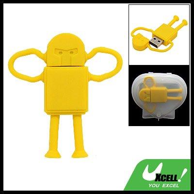 Cartoon Robot 2GB USB 2.0 Flash Memory Pen Stick Drive