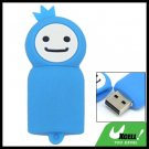 Blue Moppet 2GB USB 2.0 Flash Memory Drive Pen Stick