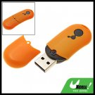 2GB USB Flash Stick Pen Memory Storage Drive Orange