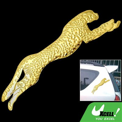 Golden Leopard Car Auto Truck Decorative Sticker Decal