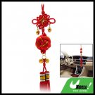Oriental Ball Chinese Knot Tassel Ornament with Bells