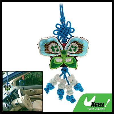 Embroidery Butterfly Chinese Knot Gift Oriental Ornament