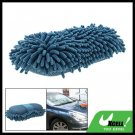 Vehicle Car Windows Gadgets Blue Soft Microfiber Chenille Sponge Cleaning Brush