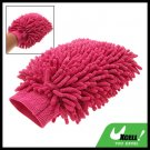 Microfiber Chenille Car Double Wash Cleaning Mitt Brush