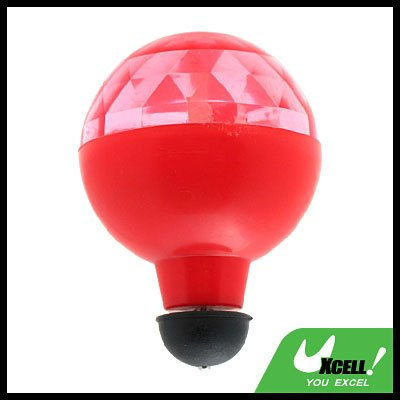Toy - Super colourful Flashing Rolling Ball - Red