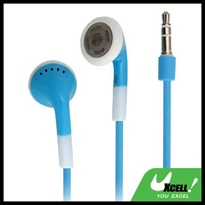 Headphone Earphone for PC MP3 MP4 iPod 2G Sky Blue